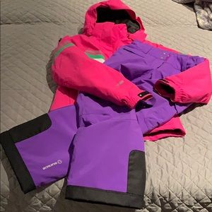 Girls ski / snow set size 13-14